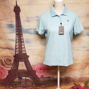 NWT Ashworth organics  polo shirt